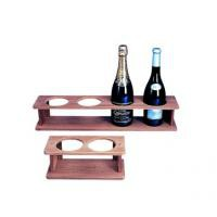 Teak 4 Bottle Holder
